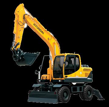 Escavadeira R140W-9