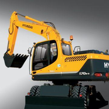 Escavadeira R170W-9