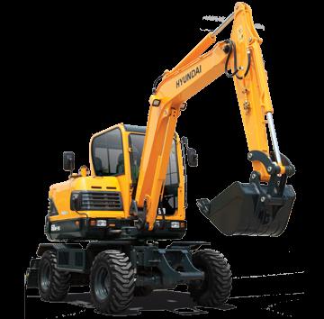 Escavadeira R60W-9