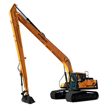 Escavadeira R220LC-9 Long Reach